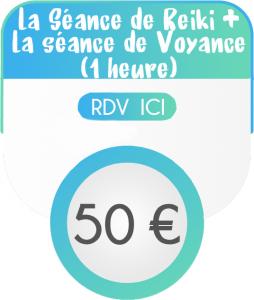 Séance de Reiki + Voyance